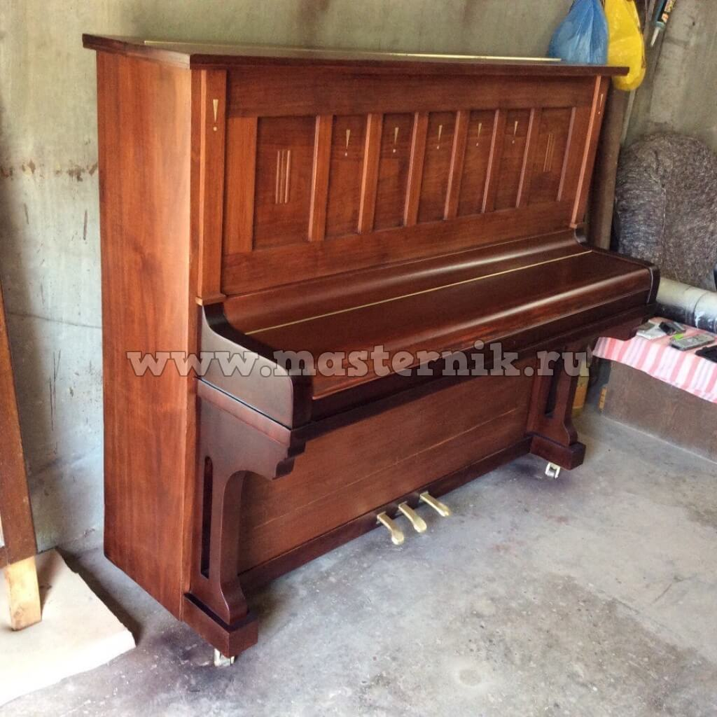 Как обновить старое пианино своими руками фото